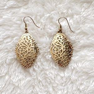 Intricate Gold Earrings